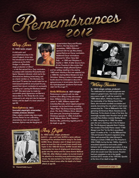 Remembrances 1212-1