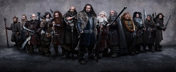 The Dwarves from The Hobbit: An Unexpected Journey