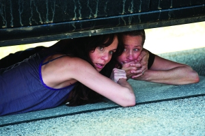 Lori Grimes (Sarah Wayne Callies) and Carol (Melissa Suzanne McBride) - The Walking Dead - Season 2. Credit: Gene Page/AMC