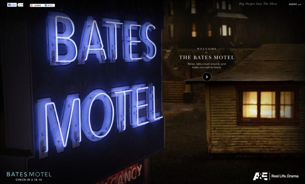 Check Into Bates Motel on Saturday