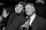 Sid Bernstein with Paul McCartney