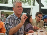 Anthony Bourdain at J Mueller BBQ