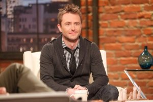 Chris Hardwick, host of Talking Dead
