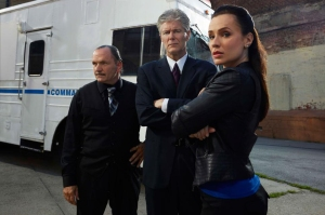 Joe Schillaci, Kevin Gannon, Michele Wood - the team of Dead Again. © AETV.
