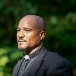 "Seth Gilliam plays Father Gabriel Stokes in ""The Walking Dead"" Courtesy of Gene Page/AMC"
