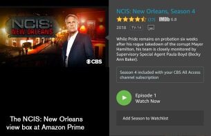 NCIS Box from Amazon