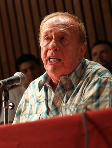 Recording engineer of The Beatles recalls his best years during event in Argentina, Buenos Aires - 09 Apr 2018